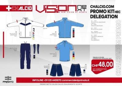 CHALCIO.COM PROMO DELEGATION KIT 2019