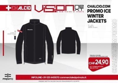 CHALCIO.COM PROMO WINTER JACKETS 2019