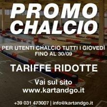 Vai in go kart ai prezzi speciali di Chalcio.com