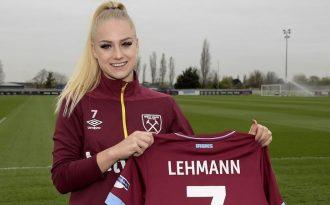 FA WSL, prosegue il rapporto di lavoro tra la rossocrociata Alisha Lehmann e il West Ham United