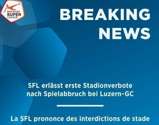 SFL, già identificati i 57 hooligans del GC: per cinque di loro è scattato il divieto di accesso agli impianti sportivi