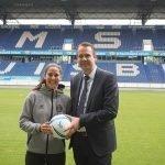 Calciomercato, un passo in avanti nella carriera di Kristina Maksuti: la punta albanese lascerà Lugano e si trasferirà a Duisburg