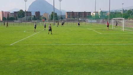 Lugano, tattica e atletica a gruppi nel mercoledì mattina bianconero