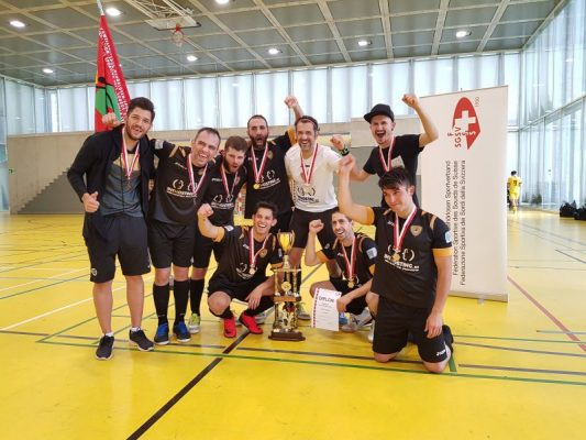 Futsal 2019, campionato svizzero per sordi