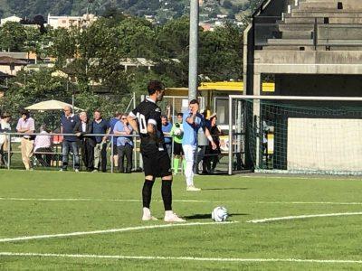 Amichevoli, vittoria del Lugano, a segno due difensori