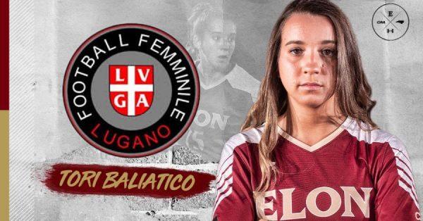 LNA D, nuovo acquisto statunitense per il Lugano femminile: dal North Carolina arriva Tori Baliatico