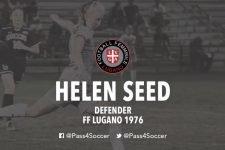 """FF Lugano 1976, il nuovo acquisto Helen Seed si presenta: """"L'eccitazione è tanta, sono veramente grata dell'opportunità"""""""