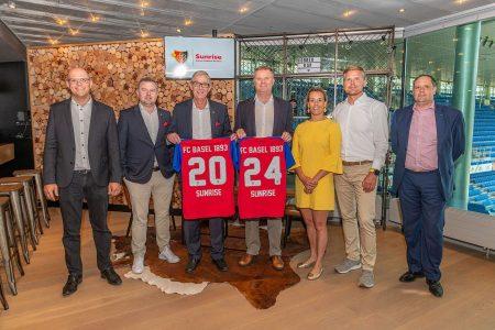 Basilea, l'azienda di telecomunicazioni Sunrise è il nuovo smart-partner dell'impianto sportivo della società rossoblù