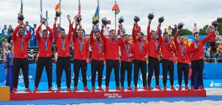European Games Minsk 2019, Beach Soccer: la Svizzera «della sabbia» conquista una splendida medaglia di bronzo!