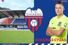 Chiasso, prosegue la campagna di rafforzamento rossoblù con l'ingaggio di un centrocampista lituano