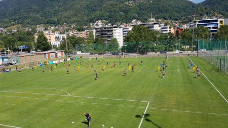 Lugano, avviata nel pomeriggio odierno la settimana che culminerà con il debutto in campionato