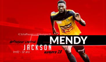 Calciomercato, il difensore franco-senegalese Jackson Mendy gira le spalle allo Sciaffusa e sbarca in quel di Boulogne
