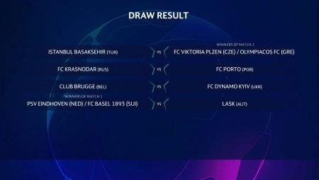 UCL, già definito l'avversario del Basilea qualora i rossoblù superassero l'ostacolo PSV Eindhoven