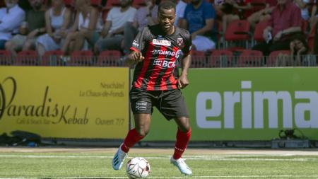 RSL, duro colpo per il Neuchâtel Xamax: l'esterno Freddy Mveng rimarrà lontano dai campi per i prossimi due mesi