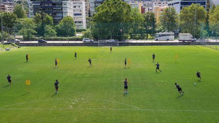 Lugano, al lavoro sui dettagli offensivi nella settimana del primo turno di Coppa Svizzera