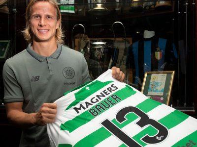 Calciomercato, l'ex Cavalletta Moritz Bauer indosserà per almeno dodici mesi la gloriosa maglia del Celtic Glasgow