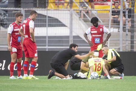 Sion, la società ringrazia il dottore del Lugano Marco Marano per l'immediato soccorso prestato domenica a Kevin Fickentscher