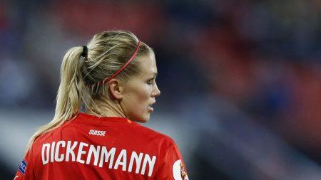 Calcio femminile, finisce un'era gloriosa: Lara Dickenmann non vestirà più la maglia della Nazionale Svizzera