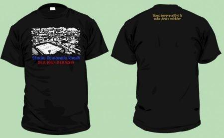 I 50 anni del Riva IV, ecco la maglietta celebrativa della Curva Sud