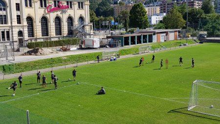 Lugano, nella storica giornata delle ragazze al mattino la scena è tutta per una seduta «dolce» dei ragazzi