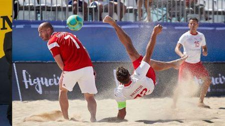 Beach Soccer, EBSL Superfinal: tre su tre «all'ingiù» per la Svizzera, che oggi si gioca il 7° posto con l'Ucraina