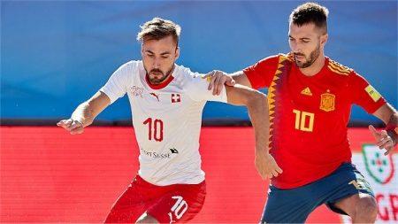 Beach Soccer, EBSL Superfinal: la Svizzera perde dalla Spagna in un match dai contorni di un film thriller