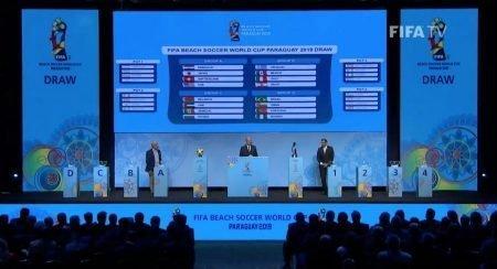 Beach Soccer, ecco i gruppi dei Campionati del Mondo: l'urna di Asunción è stata benevola con la Nazionale Svizzera