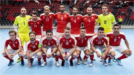 Futsal, nei due test pre-Mondiali la Svizzera e l'Austria si lasciano con un pari e un successo per le Aquile