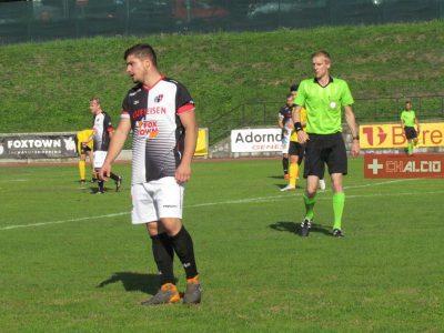 2LI, Mascazzini, Afonso, Mascazzini, grande vittoria del Mendrisio, 3-1 al Rotkreuz