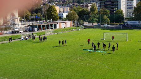 Lugano, a Cornaredo sono rientrati i nazionali; Domen Črnigoj e Nicola Dalmonte ancora a parte