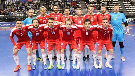 Futsal, primo girone pre-Mondiale: tre nette e preventivate sconfitte condannano la Svizzera al quarto e ultimo posto