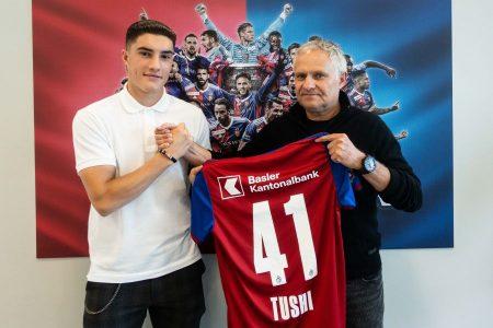 RSL, il Basilea prolunga anticipatamente il contratto che lo lega al talentuoso attaccante Tician Tushi