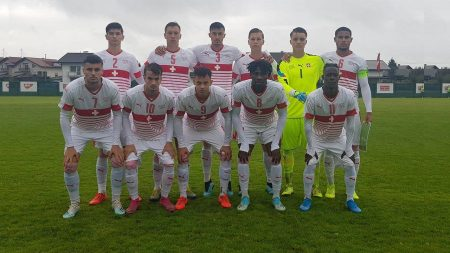 Nazionale Svizzera U19, riscatto elvetico contro la Slovenia: l'ex Team Ticino Nikita Vlasenko titolare e in campo 63′
