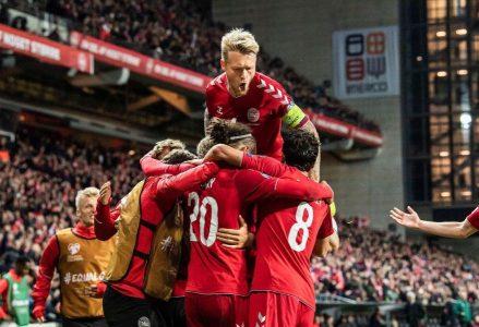 Amichevoli internazionali, la vittoria sulla Svizzera scatena la Danimarca, che cala il poker con il Lussemburgo