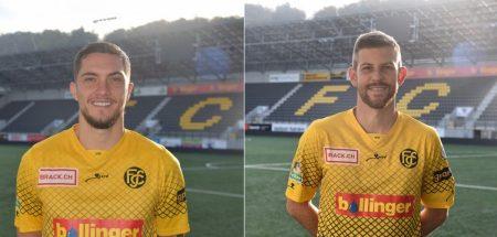 Calciomercato, altri due innesti per lo Sciaffusa: dal Ticino giungono Jetmir Krasniqi e Simone Belometti