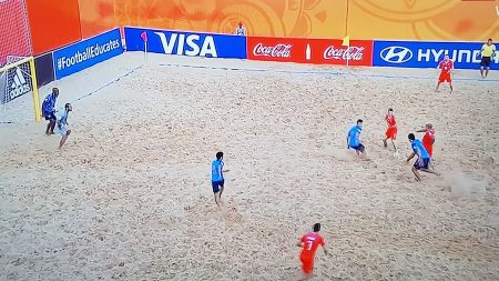 Beach Soccer, la Svizzera s'inchina ai Campioni d'Asia del Giappone e chiude al 2° posto: ai ¼ sfida all'Italia