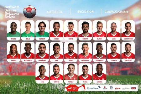 Nazionale Svizzera A, rispetto a ottobre si registrano quattro cambiamenti per le sfide decisive con Georgia e Gibilterra