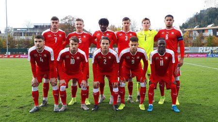 Nazionale Svizzera U19, rimonta vincente per gli elvetici nel match d'esordio rinviato di 24 ore