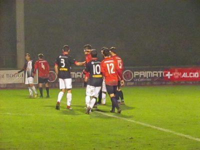 2LI, una rete-fulmine di Pino fa chiudere al Mendrisio il girone di andata con una vittoria, 1-0 sul Perlen-Buchrain