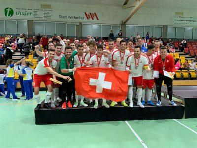 Mondiale Futsal per sordi, la Svizzera vice-campione del mondo!!