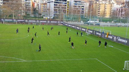 Lugano, ripresa pomeridiana del martedì senza novità di rilievo concernenti gli infortunati