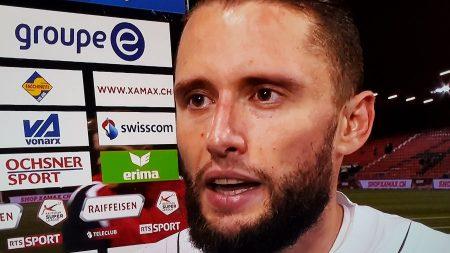 RSL, Neuchâtel Xamax-Lugano, Fabio Daprelà: «Siamo delusi, abbiamo fatto la partita e avremmo meritato il successo»