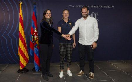 Calcio femminile, la rossocrociata Ana-Maria Crnogorčević torna in Europa per vestire la gloriosa maglia del Barcellona!
