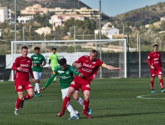Amichevoli, il San Gallo si rifà nell'ultimo sforzo della sua preparazione spagnola superando per 3-2 i belgi dell'Ostenda