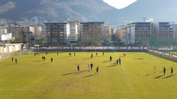 Lugano, è il sole ad accompagnare la prima seduta sui terreni casalinghi dei ragazzi bianconeri dopo il ritiro spagnolo