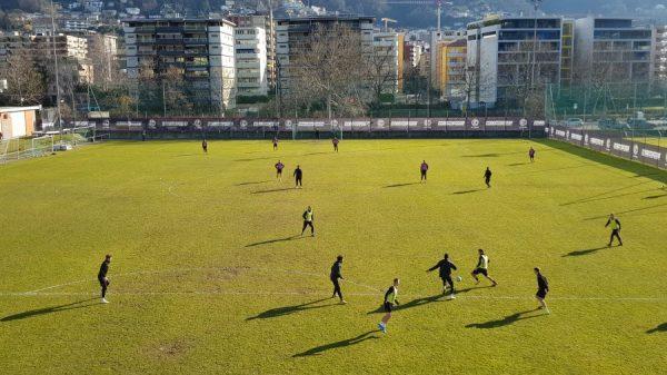 Lugano, «rifinitura» in vista dell'ultimo test invernale con il Kriens senza il partente Domen Črnigoj