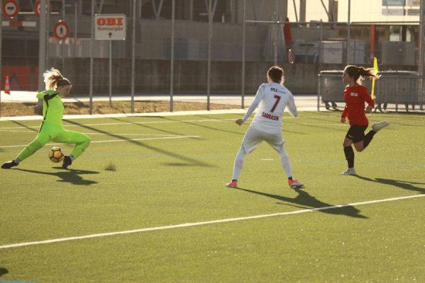Calcio femminile, a tre settimane dalla ripresa il Servette fa sul serio anche in amichevole e si scatena contro il Thun