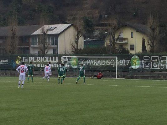 Amichevole – Il Bellinzona strapazza il Paradiso: 5-0 nel primo tempo, poi il gol della bandiera