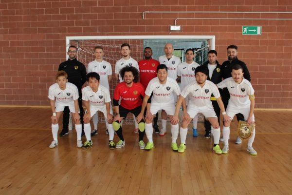 Futsal, la squadra ticinese United DC tra le prime 5 squadre in Europa!