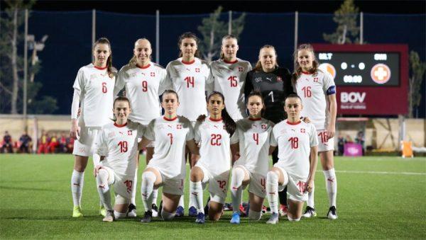 Nazionale femminile A, quattro reti in dieci minuti e pareggio per 2-2 per la giovane Svizzera nel test di gennaio a Malta